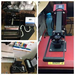 Heat Press Printing set