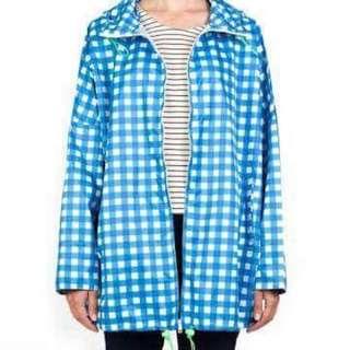 Gorman Blue & White Picnic Raincoat