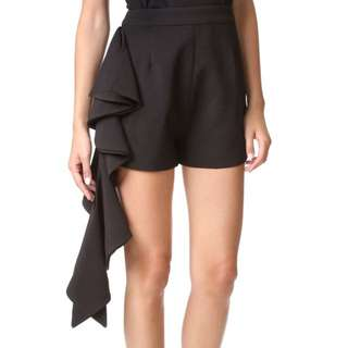BNWT Cameo Black Frilled Shorts