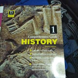 Comprehensive History Guide Second Edition Sec 1