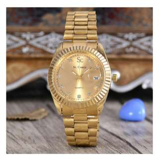 Saint Costie Date Just Index Diamond Gold, Like A Rolex