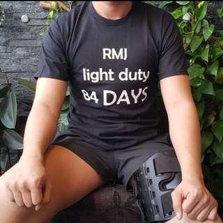 RMJ Black Tshirt