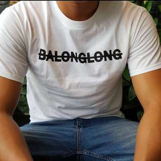 BALONGLONG White Tshirt