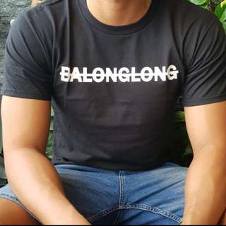 BALONGLONG Black Tshirt