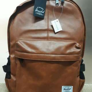Herschel Leather Bag