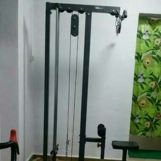 Hurry !! Used Home Gym Set From Gymsport