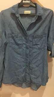Cotton on Denim 3/4 sleeves size M