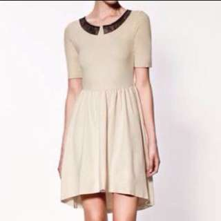 Brand New Zara High Low Skater Dress