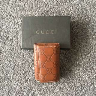 Gucci Signature Leather Key Case