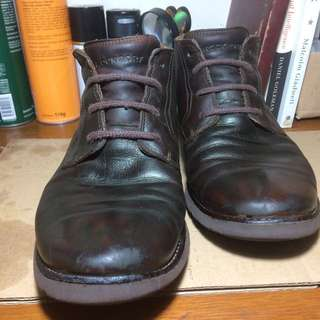 Leather Boots Rockport Original