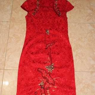 Qibao / Cheongsam Red