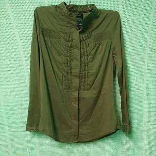 Brown polo / blouse