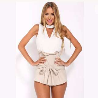 Choker Playsuit Bnwt