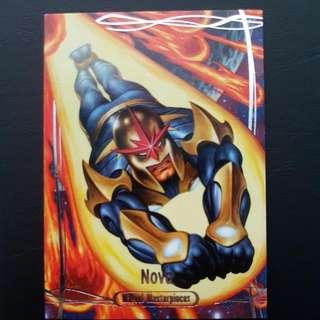 2016 Marvel Masterpiece Rare Trading Card Nova