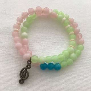 Songs of Spring bracelet