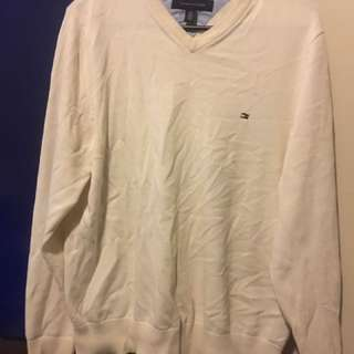 Size Small Tommy Hilfiger Cream Sweater