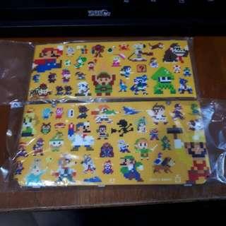 New Nintendo 3DS Mario 8-bit Cover Plates