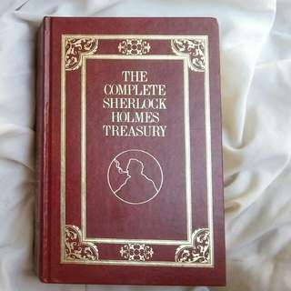 Free SF Complete Sherlock Holmes Leather Hardbound