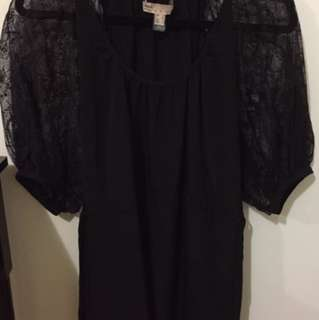 MANGO BLACK DRESS UK S / USA 4