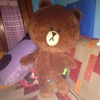 Boneka brown karakter line besar (50/60cm)