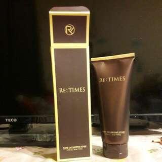 RE:TIMES 韓國 迴轉時光系列 retimes洗面乳