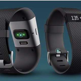 Fitbit Charge HR Black - Large