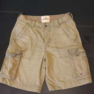9成新美國帶回Hollister 卡其工作短褲