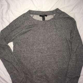 F21 Monochrome Sweater