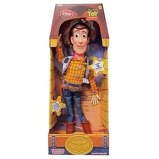 全新,胡迪有聲公仔,迪士尼玩具總動員,woody胡迪警長說話