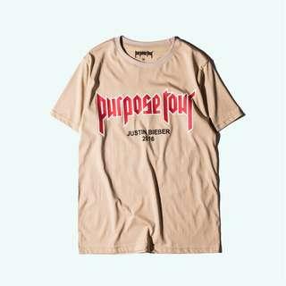 JUSTIN BIEBER X H&M PURPOSE TOUR T-SHIRT