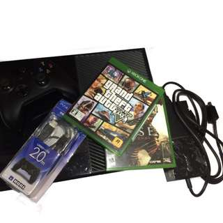XBOX ONE 500GB WT FREE TWO GAMES