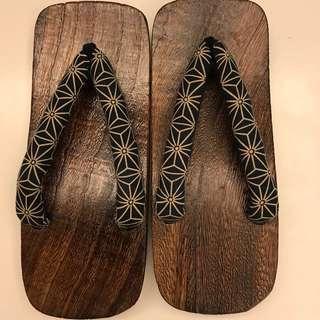 日本製男裝木屐