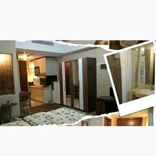 Sewa Apartemen U Residence Studio Full Furnish Supermall Karawaci
