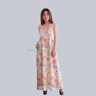 HTP Floral Maxi Dress