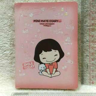 Mini Mate Diary Undated Planner