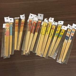 全新各式卡通筷子-短柄#出清中