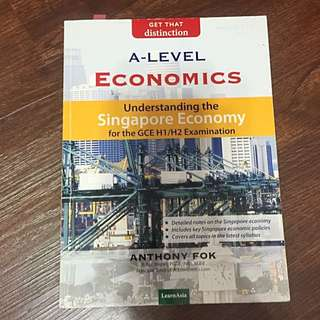 Singapore Economy By Anthony Fok (H2/H1 ECONS) A LEVELS