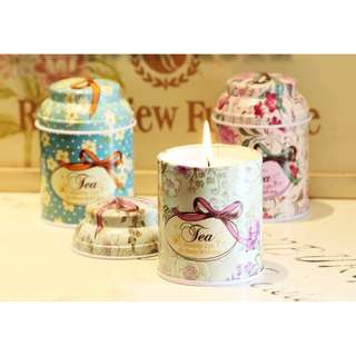 Dream Candle Big Jar (Tin Can) -Pandora Secret,.Franch Juniper Berry and Lavander,230g