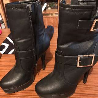 Le Chateau High Heel Booties