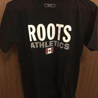Roots復刻短袖上衣