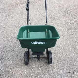 Golf green Grass Seed Spreader