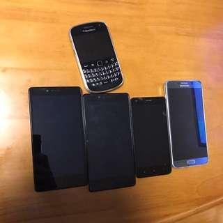 Samsung Blackberry Xiaomi Mi 智能手機 手提電話