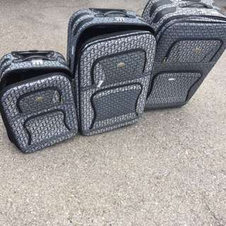 Set Of 3 Luggage Carriers - Eurostar