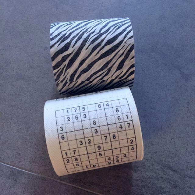 (新)造型捲筒衛生紙2入