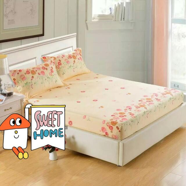 床罩加2枕頭套 150×200  純棉
