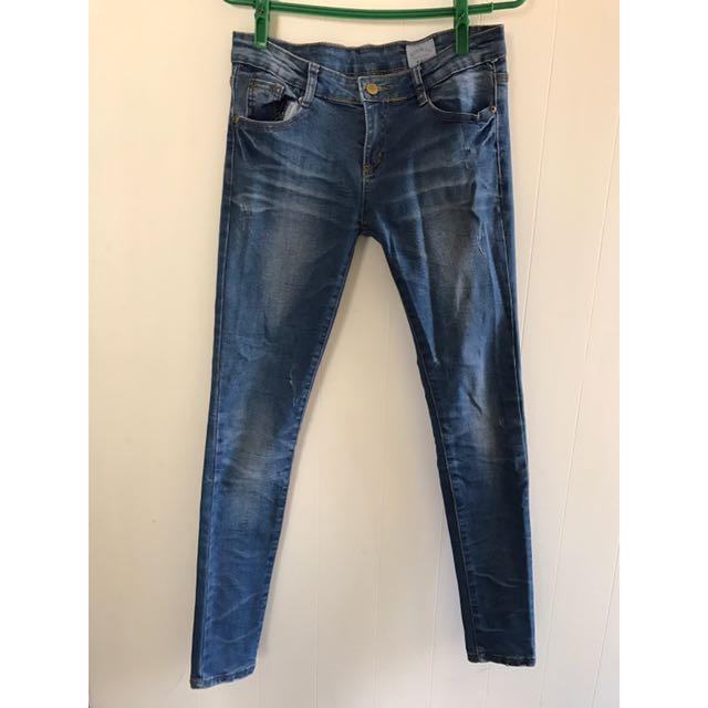 二手300元‼牛仔長褲