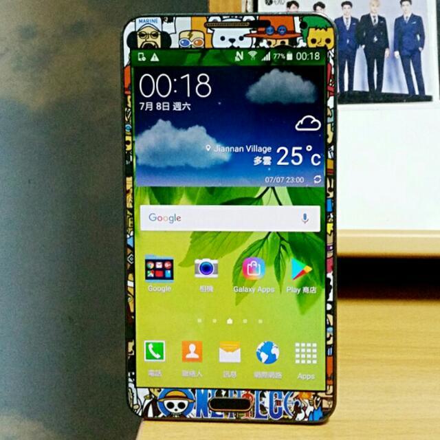 92%新 Samsung Galaxy Note 3 N900u Black