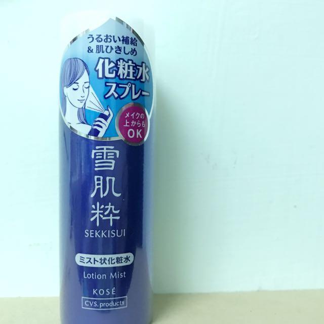 日本雪肌粹噴霧化妝水