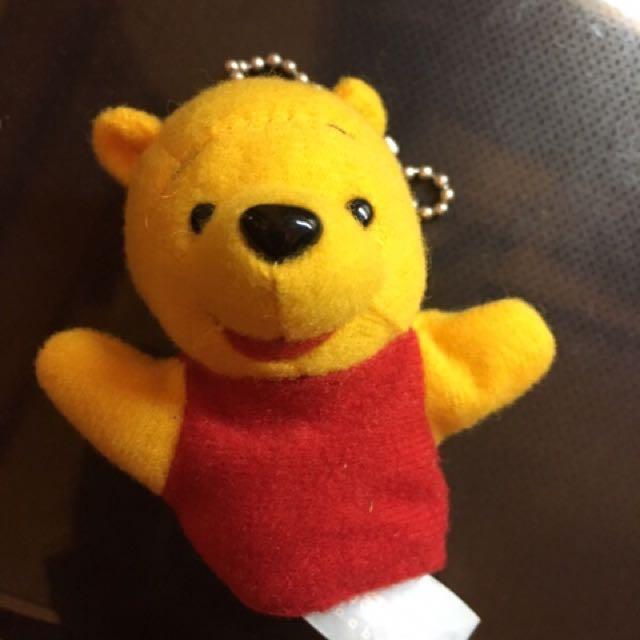小熊維尼手指娃娃