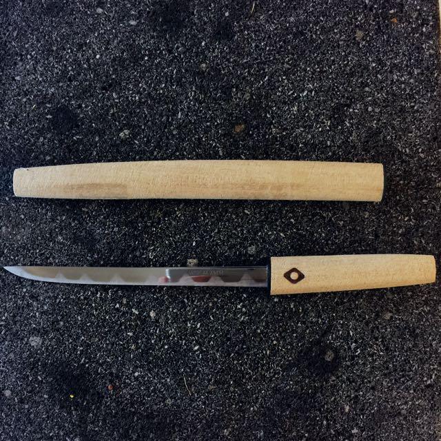 (新)日本✈️ 武士拆信刀